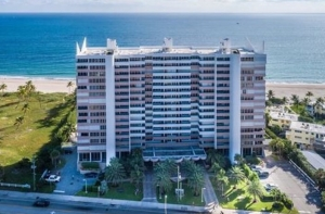 Wittington Apartments Condo Building in Pompano Beach