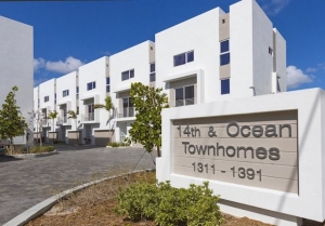 14th & Ocean Townhomes For Sale in Pompano Beach