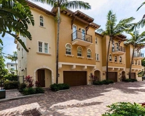 Ocean Enclave Townhomes For Sale in Pompano Beach