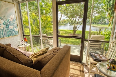 Cypress Bend Condos For Sale in Pompano Beach View from Patio