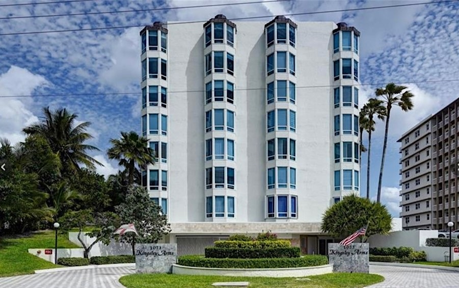 Kingsley Arms Condos in Hillsboro Beach FL