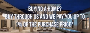 Buy Pompano Beach Real Estate through Pompano Beach Realty and we pay up to 1% of the sales price towards your closing costs